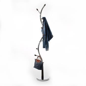 Kleiderständer, Metallgestell verchromt