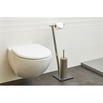 WC Garnitur VARESE inkl. WC Bürste, freistehend