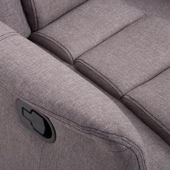 Fernsehsessel RELAJO mit Stoffbezug in grau