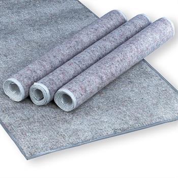 Filzschoner in grau für Roll-/Lattenrost