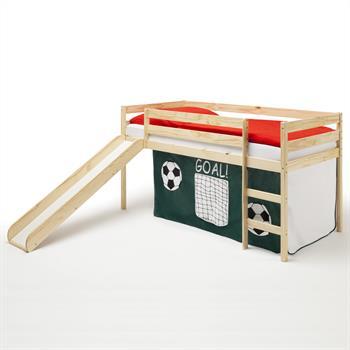 Rutschbett MILOW mit Fußball Vorhang