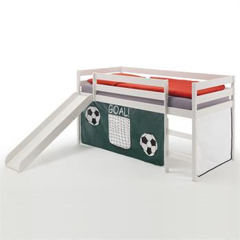 Rutschbett MIKA mit  Fußball Vorhang
