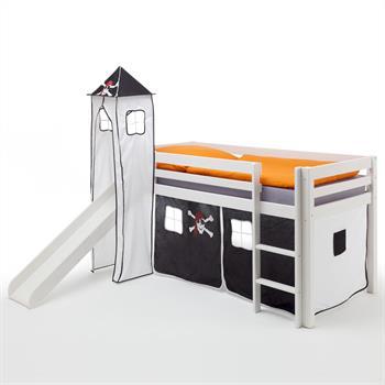 Rutschbett mit Vorhang und Turm, Pirat