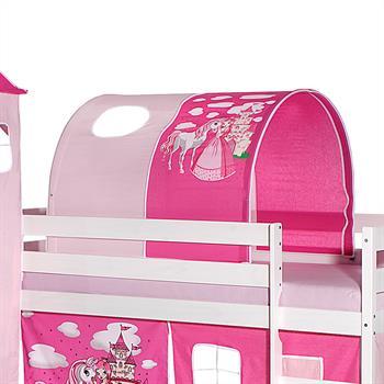 Tunnel für Spielbett  in pink/rosa