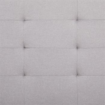 Polsterbett 120 x 200 in grau inkl. Lattenrahmen