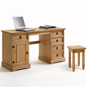 Schreibtisch m. Hocker, Mexico Möbel