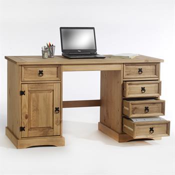 Schreibtisch Mexico Möbel, Kiefer massiv