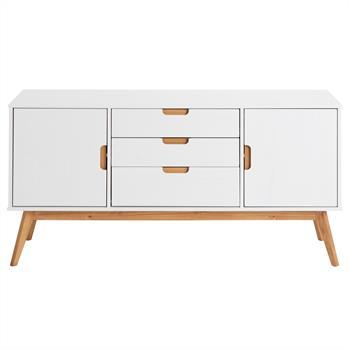 Sideboard 2 Türen, 3 Schubladen in weiß