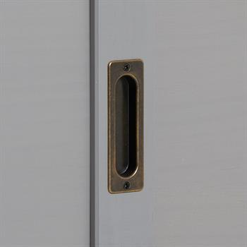Anrichte 3 Türen grau