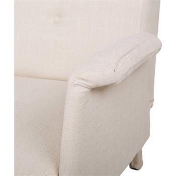 Schlafcouch VITA in weiß, 3-Sitzer