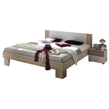 Doppelbett LARA inklusive 2 Nachtkommoden