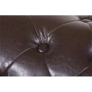 Chesterfield Sofa AVA 2-Sitzer, antikbraun