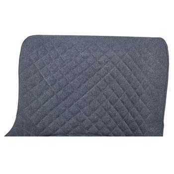 Esszimmerstuhl TAMPERE im 2er Set, Textilbezug in grau