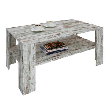 Couchtisch ANIMO in Shabby Chic, 100 x 60 cm
