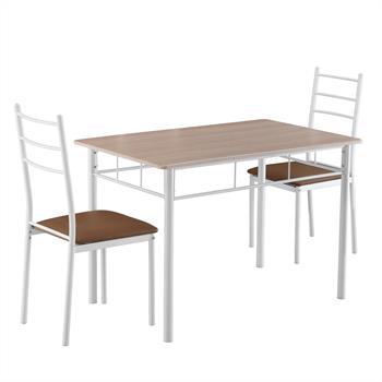 Essgruppe EDMONTO Esstisch mit 4 Stühlen