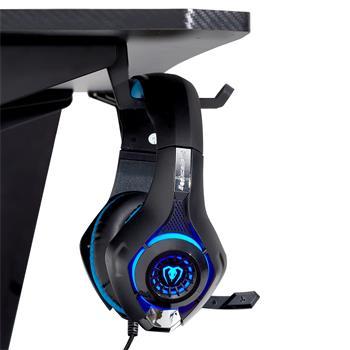 Gaming Tisch PREFIRE  in schwarz