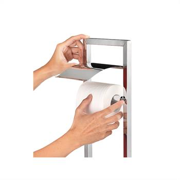 Toilettenpapierhalter RENATE Metall verchromt