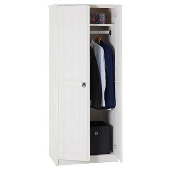 Kleiderschrank RESIDENCIA in weiß
