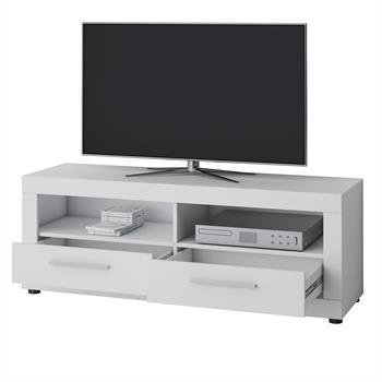 TV Lowboard VIEW in weiß