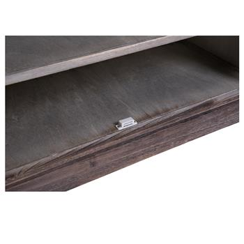 Schuhbank MARA braun/grau lackiert