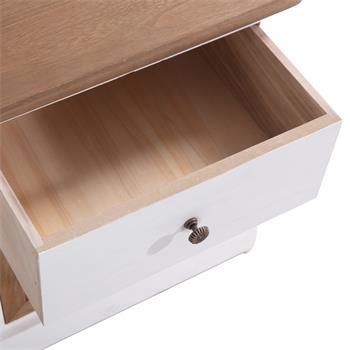 Nachttisch CULTURA 1 Schublade, 1 Korb