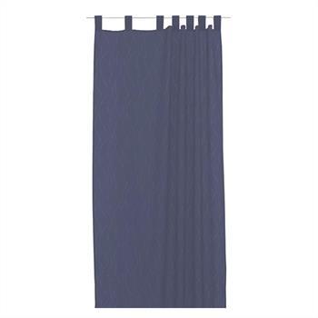 Dekoschal mit 7 Schlaufen in blau