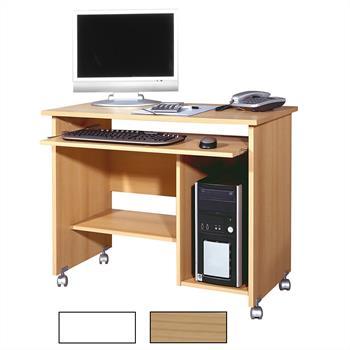 Computertisch FRANK mit Tastaturauszug
