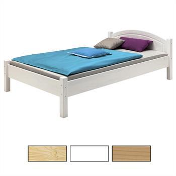 Holzbett in versch. Größen und Farben