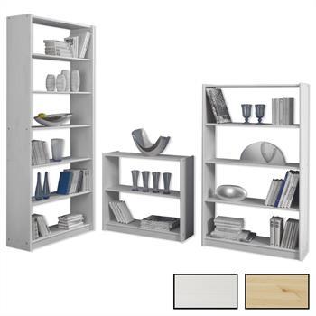 Bücherregal in versch. Größen und Farben
