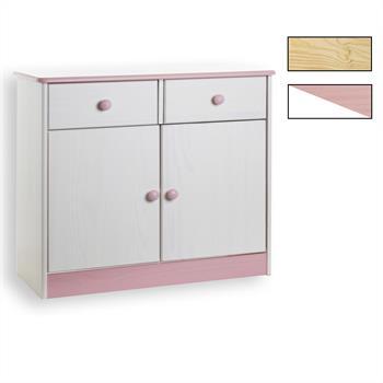 Kommode mit 2 Türen und 2 Schubladen