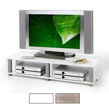 TV-Lowboard in versch. Farben, 2 Ablagen