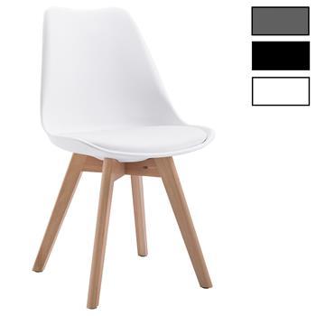 Esszimmerstuhl aus Kunststoff im 4er Set
