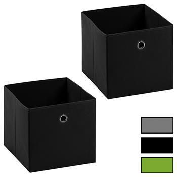 Stoffbox BELLA im 2er Set, verschiedene Farben
