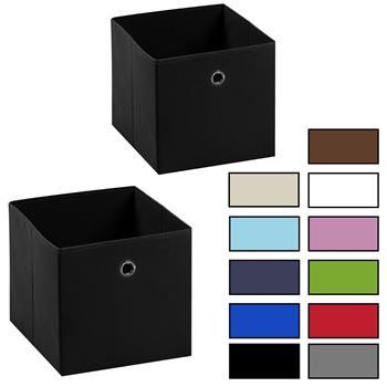 Stoffbox ELA im 2er Set, verschiedene Farben