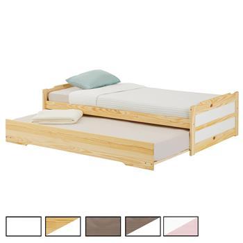 Funktionsbett in 2 Farben, 90 x 190 cm