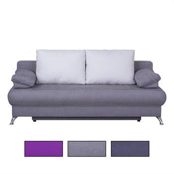 Schlafsofa MILA, 3 Farben, mit Bettkasten