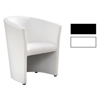 Cocktailsessel in schwarz oder weiß