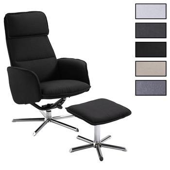 Relaxsessel RENO mit Hocker in 3 Farben