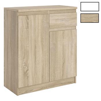 Kommode ROSALI mit 2 Türen, 1 Schublade, grifflos