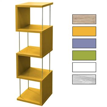 Standregal in verschiedenen Farben