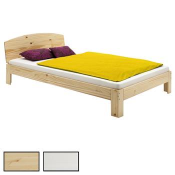 Holzbett TIM in verschiedenen Farben und Größen