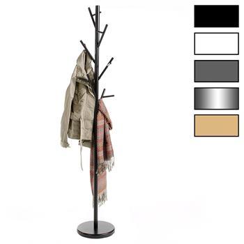 Kleiderständer FALK mit 6 Haken in versch. Farben