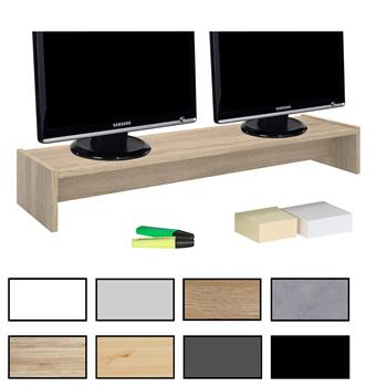 Monitoraufsatz ZOOM 100 x 15 x 27 cm in modernen Farben