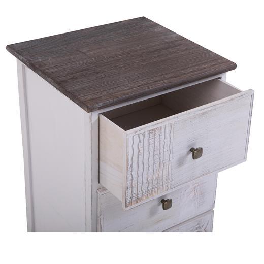 nachttisch nachtschrank f r boxspringbett shabby vintage standregal kommode ebay