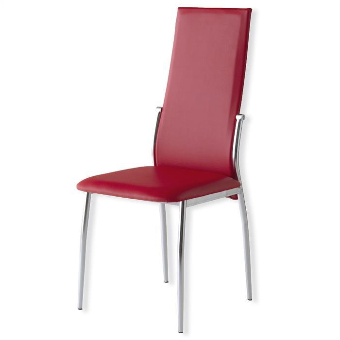 Esszimmerstuhl in rot