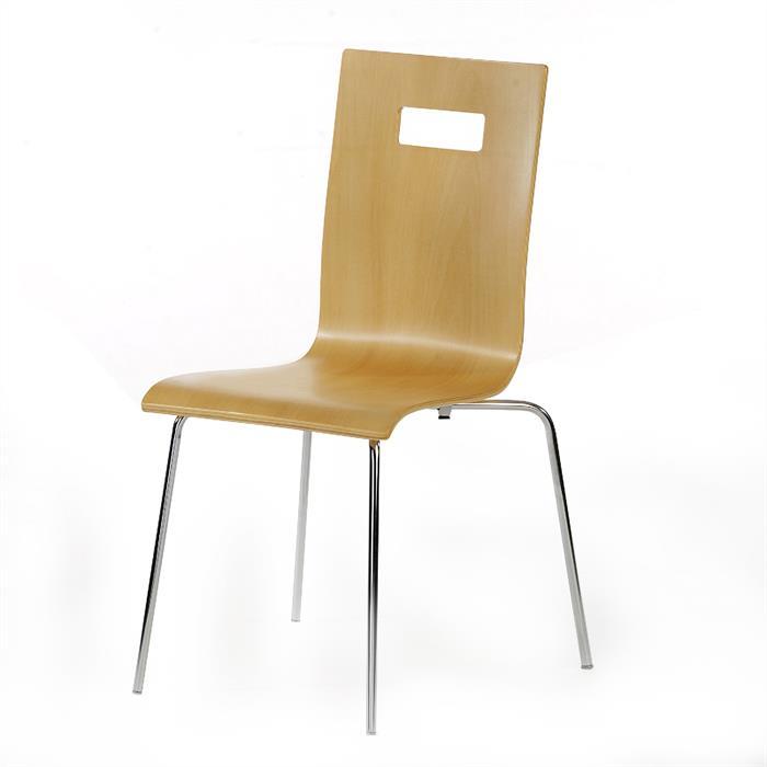 Stuhl WILMA im 4er Pack in beige