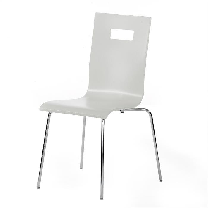 Stuhl WILMA im 4er Pack in weiß