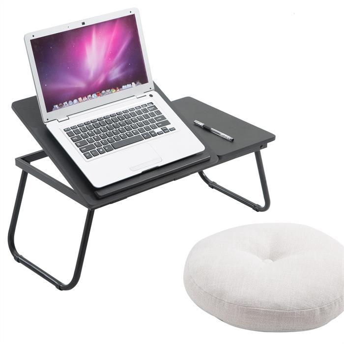 Laptoptisch in schwarz, verstellbar