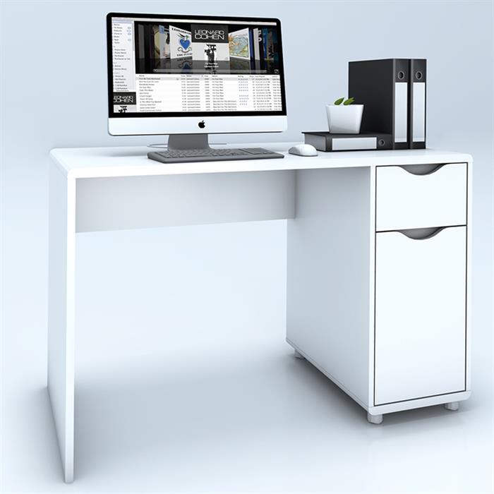 Schreibtisch ELVIS mit Schublade/Schrankfach