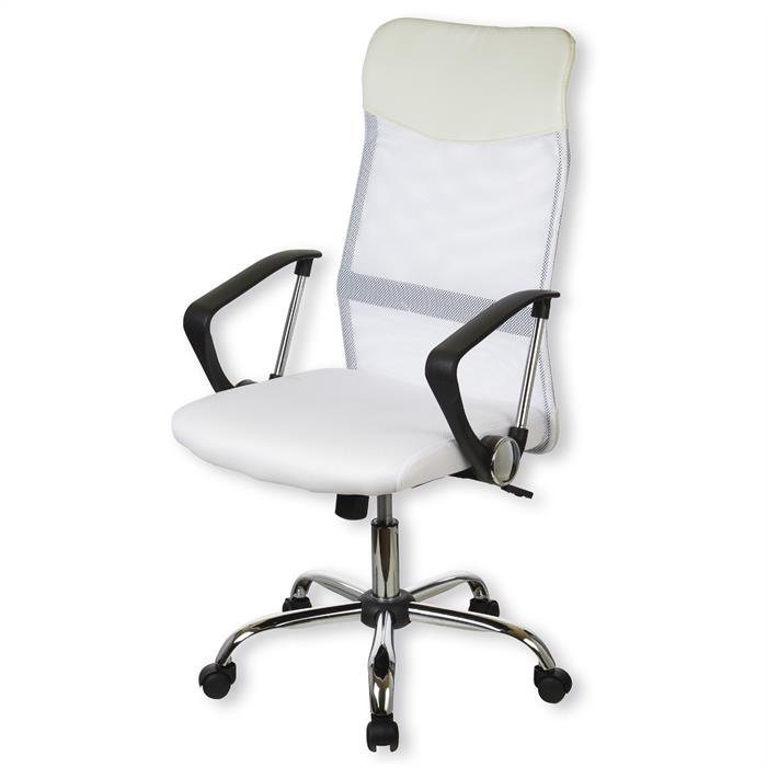 Bürodrehstuhl in weiß